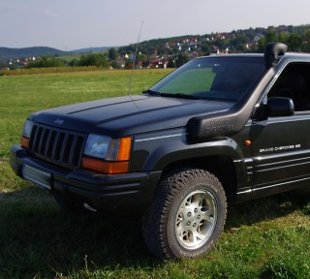 Jeep Grand Cherokee ZJ snorkel
