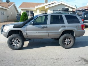 Jeep Grand Cherokee WJ snorkel