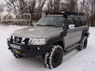 Nissan Patrol Y61 bampers