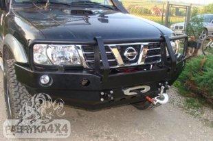 Nissan Patrol GR Y61 bamperis