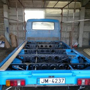 VW LT-35 Kravas kastes restaurācija