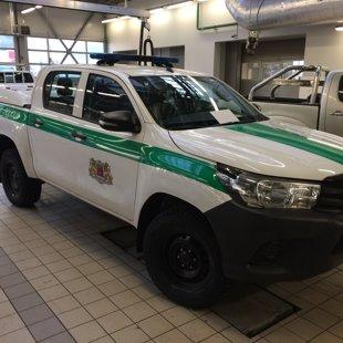 Toyota Hilux Vinčas uzstādīšna Wess autocentrā